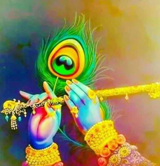 lord krishna cartoon