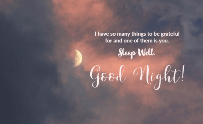 good night with quotes 2