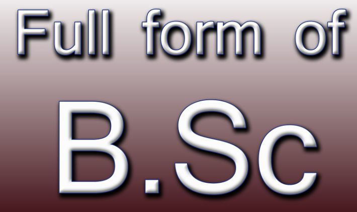 BSC full form in hindi