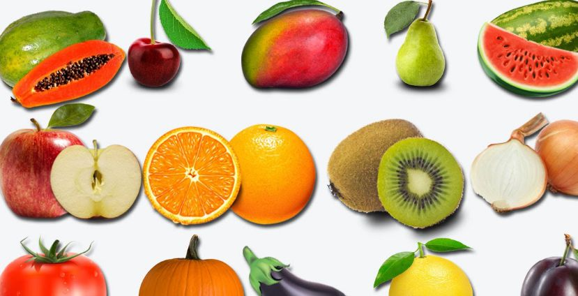fruits name in hindi and english